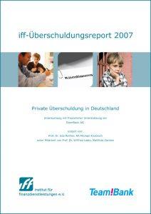 iff-Überschuldungsreport 2007
