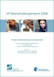 iff-Überschuldungsreport 2008