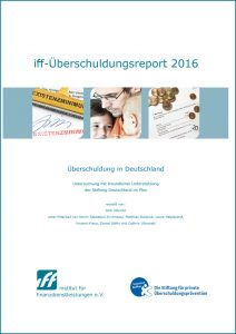 iff-Überschuldungsreport 2016