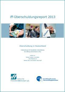 iff-Überschuldungsreport 2013